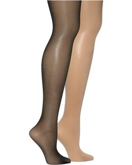 Age Defiance With Control Top Hosiery