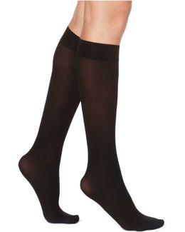 Flat Knit Knee Socks