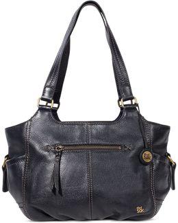 Kendra Leather Satchel