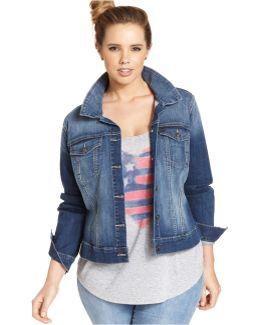 Plus Size Jacket, Pixie Denim