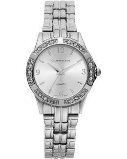 Women's Silver-tone Bracelet 40mm