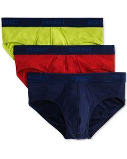 Underwear, Essential Range No Show Brief 3 Pack