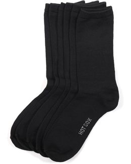 Comfort Solid Trouser 3 Pack Socks