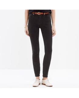 "Taller 9"" High-rise Skinny Jeans In Lunar"