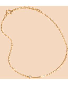 X Still Housetm 14k Gold Erelé Diamond Bracelet