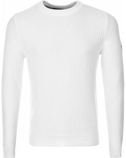 Felsted Knit Jumper White