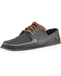Wilton Driver Shoes Navy