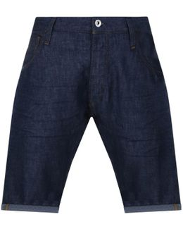 Arc 3d Denim Shorts Blue