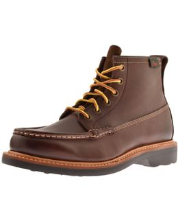 Weejun Quail Hunter Leather Boots Brown
