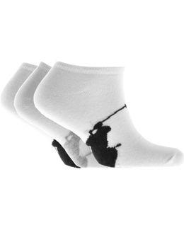 3 Pack Socks White