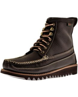 Ranger Moc Ii Leather Boots Brown