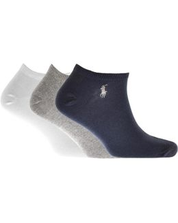 3 Pack Socks Navy