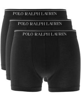 Underwear 3 Pack Boxer Shorts Black