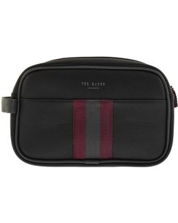 Pidgy Webbing Wash Bag Black