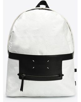 Paper Effect Backpack With Pen
