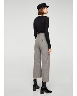 Mini Houndstooth Trousers