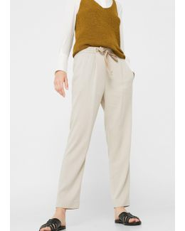 Soft Crop Trousers