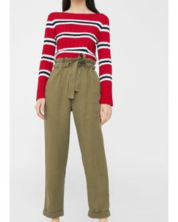 Soft Cord Trousers