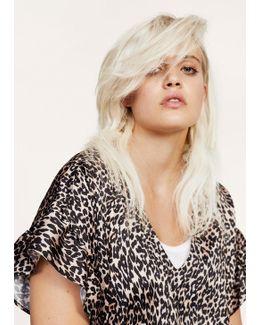 Belt Leopard Dress