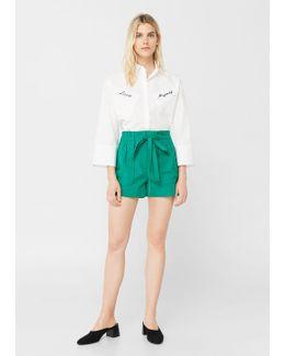 Lace Cotton Short