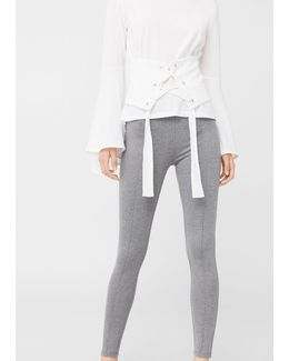Decorative Seam Leggings