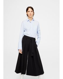 Bow Culottes Trousers