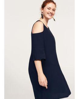Flowy Off-shoulder Dress
