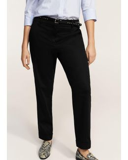 Detachable Belt Trousers