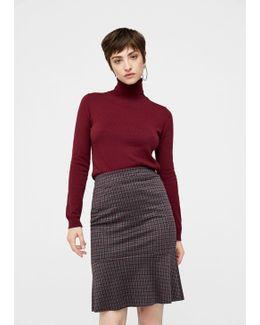 Check Design Skirt
