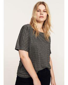 Textured Flowy T-shirt