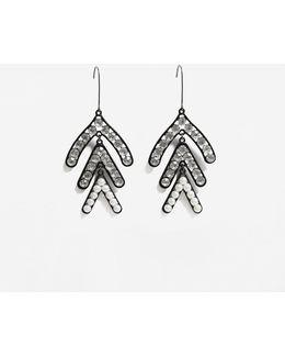 Faceted Crystal Earrings