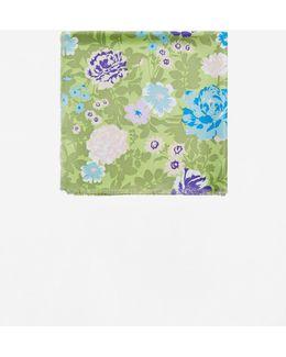 Flowers Printed Scarf