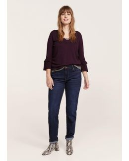 Flared Sleeves Sweater