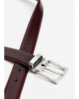 Leather Suit Belt