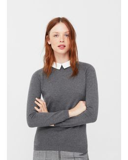 Shirt Collar Sweater