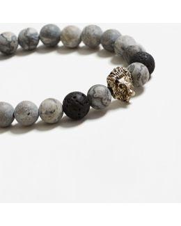 Semiprecious Stone Hand Chain