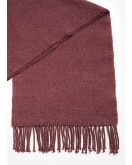 Fringes Knit Scarf