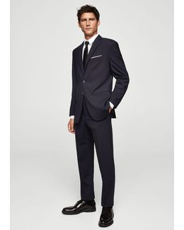 Slim-fit Water-resitant Suit Blazer