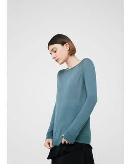 Decorative Seam Sweater