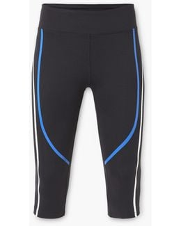 Slimming Effect Capri Leggings