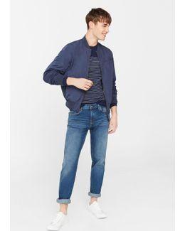 Slim-fit Dark Wash Tim Jeans