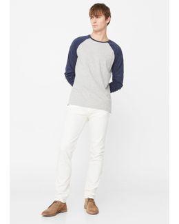 Slim-fit White Jan Jeans