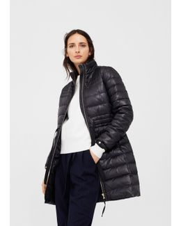 Hood Quilted Coat