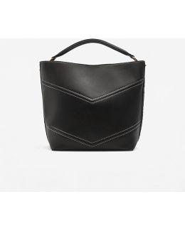 Contrast Seam Bag