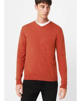 Textured Cotton Cashmere-blend Sweater