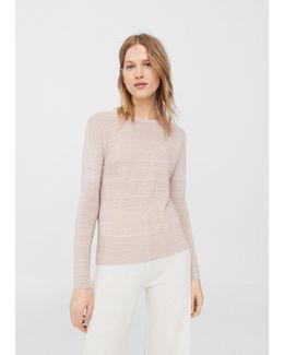 Flecked Sweater