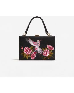 Embroidered Coffer Bag