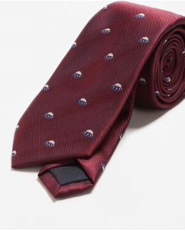 Space Patterned Tie