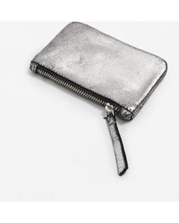 Metallic Leather Purse