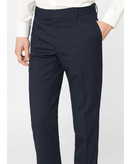 Super Slim-fit Suit Trousers
